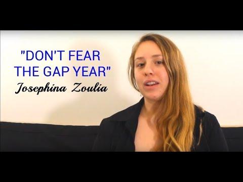 Josephine Zoulias gap year